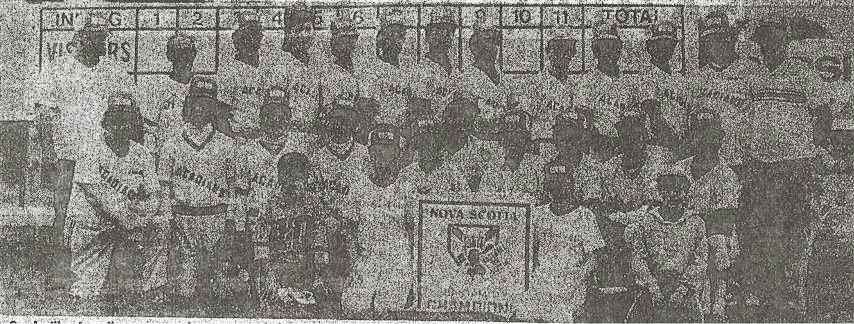 Sackville Acadians 1985-1986 Bantam