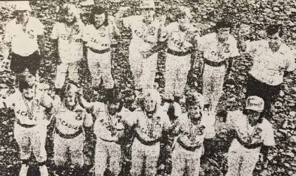1983 Sackville Acadian Girls Softball